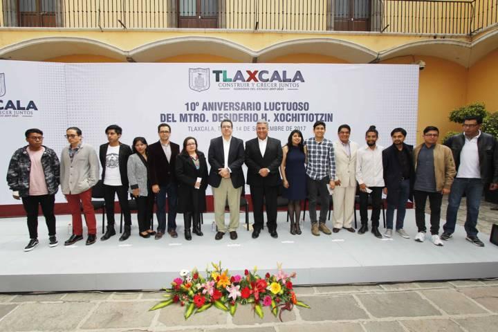 Crecimiento de Tlaxcala empata con orgullo por su historia: Marco Mena