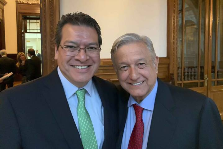 Marco Mena y gobernadores se reúnen con el presidente López Obrador