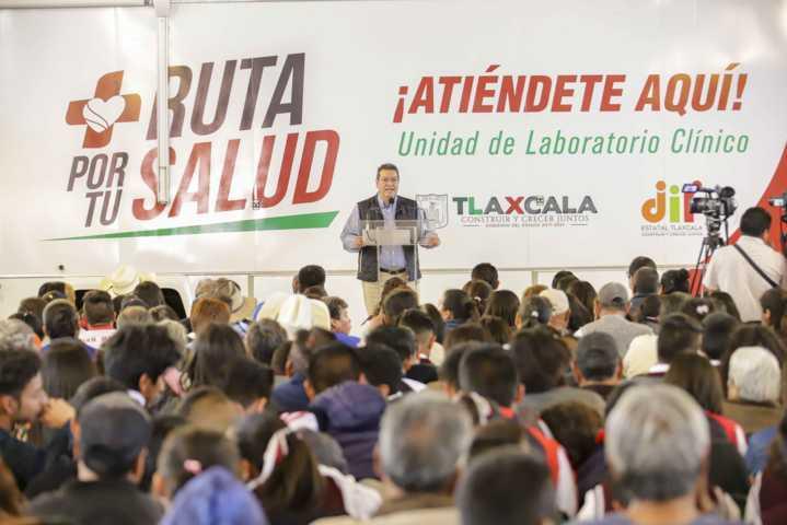 Marco Mena encabeza Ruta Por Tu Salud en Ixtacuixtla