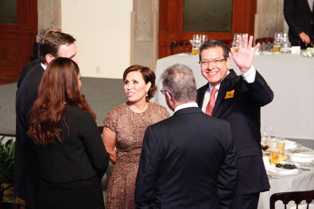 Marco Mena, invitado a recepción de EPN a Angela Merkel