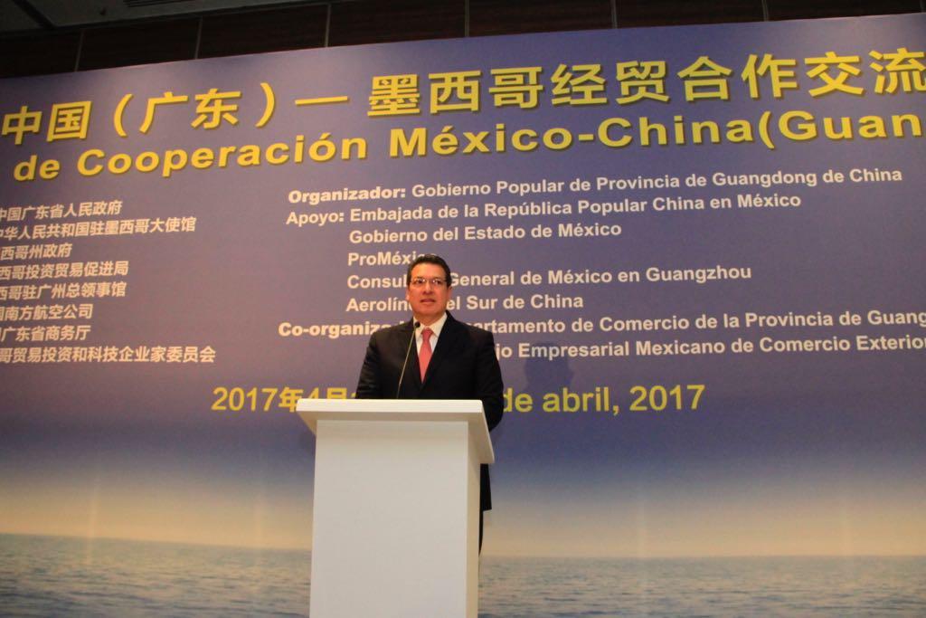 Marco Mena, invitado especial del foro de cooperación México-China