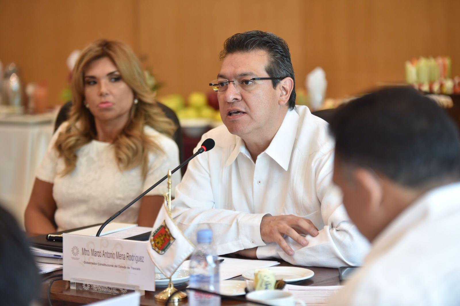 Participa Marco Mena en LII Reunión Ordinaria de la CONAGO