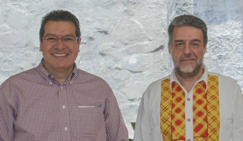 Marco Mena y Luciano Concheiro fortalecen educación superior en Tlaxcala