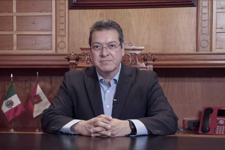 Fortalecerá Marco Mena medidas de respaldo al sector productivo por Covid-19