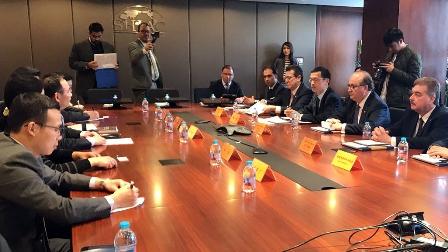 Concluye Mena promoción industrial de Tlaxcala en China