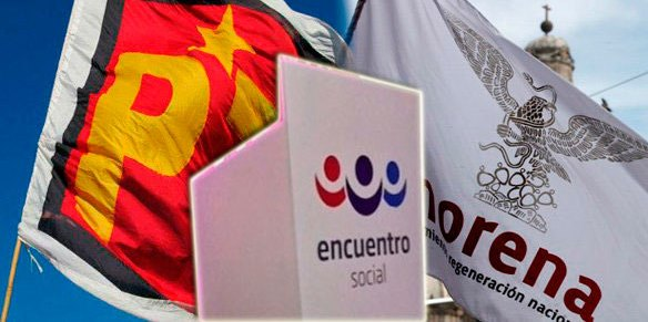 MORENA, PT y PES ratificaremos hoy la coalición: Molina