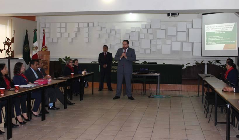 Participa personal directivo de Cecyte Tlaxcala en Taller sobre Nuevo Modelo Educativo