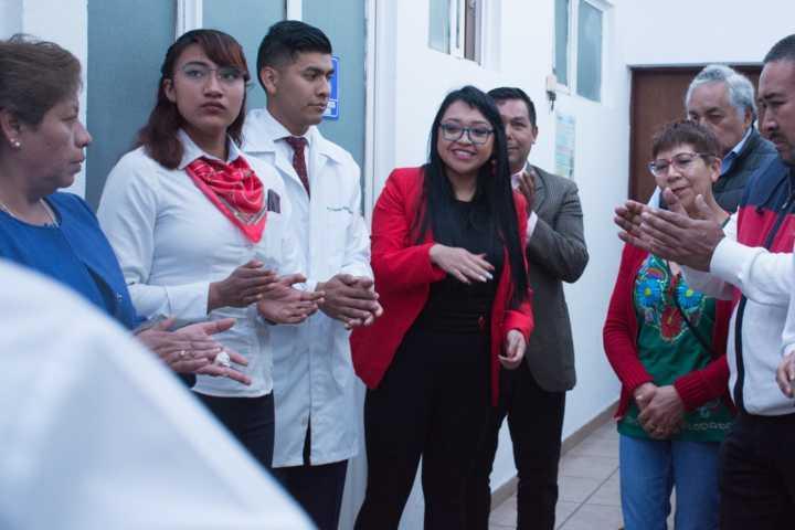 Inaugura DIF de Xicohtzinco Módulo de Atención Médica Integral