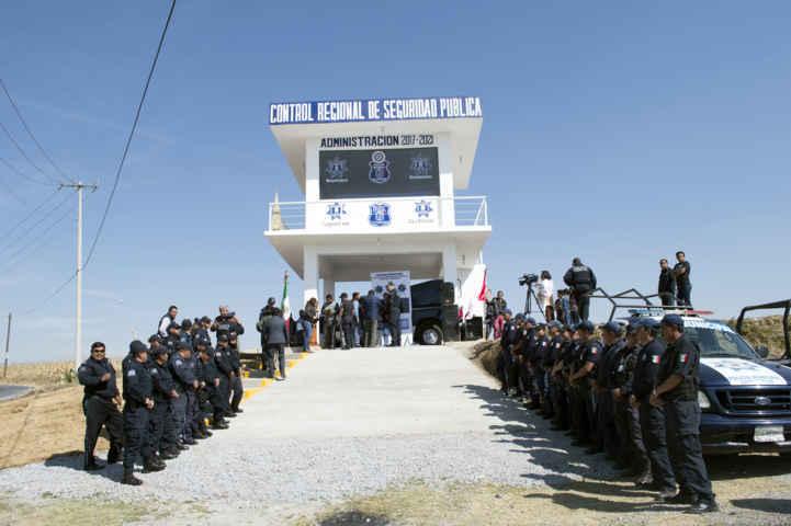 Suman esfuerzos la CES y policías de Calpulalpan y Sanctorum en contra de la delincuencia