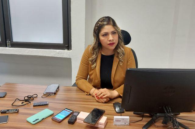 Mónica Sánchez reitera su compromiso de defender el derecho a la vida