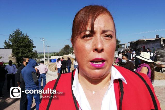 La diputada Zonia Montiel, desmiente plagio de la candidatura DIPUTADO MIGRANTE