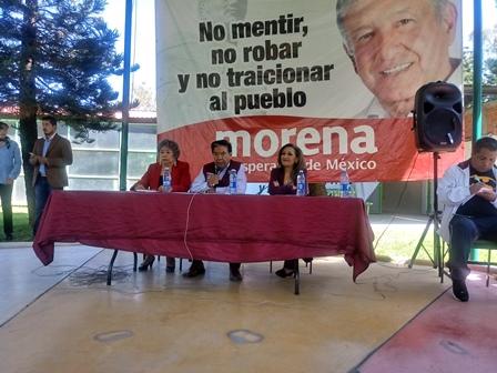 Indignante una coalición del PRD- PAN contra AMLO: Lorena