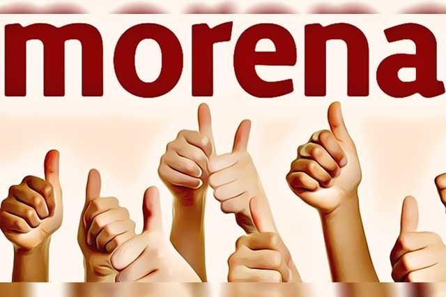 Advierte Morena posible cambio de aspirante en el distrito XV