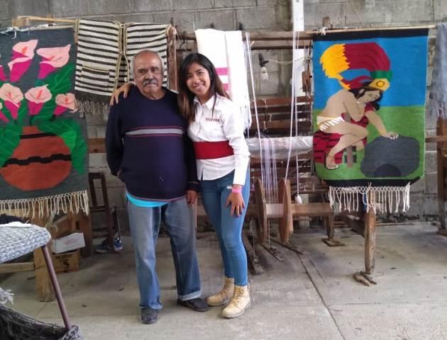 Desde el Congreso apoyaremos a los artesanos: María Félix