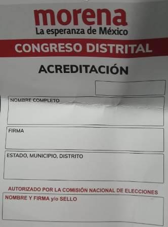 Militantes presionan y suspenden la Asamblea de Morena en Zacatelco