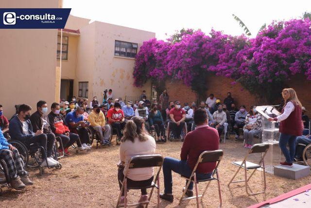 Frente común en atención a la discapacidad se suma a Lorena Cuéllar