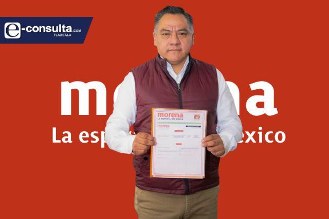 Edil de Tetla anuncia su adhesión a Morena