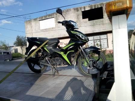 Policía municipal de Amaxac recupera motocicleta con reporte de robo