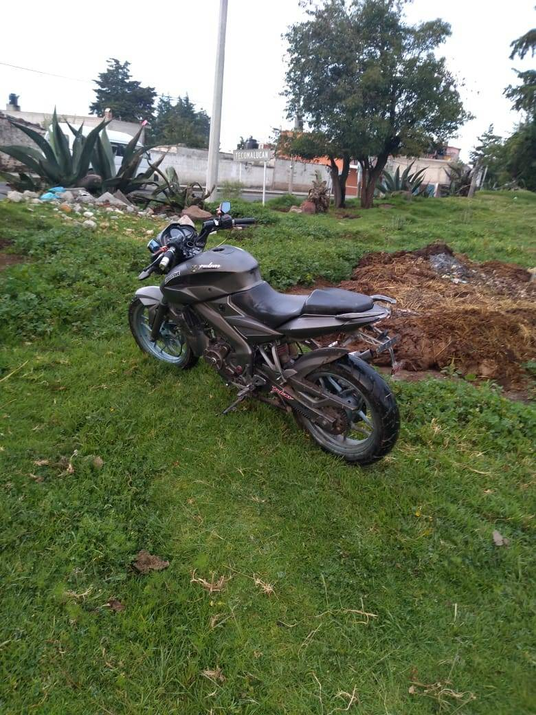 Recupera Tlaxco motocicleta robada y detiene a infractor