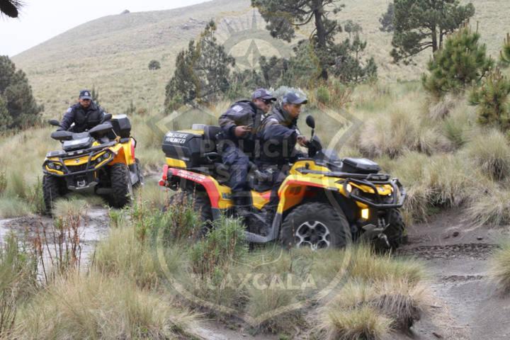 Encuentran a jóvenes extraviados en La Malinche