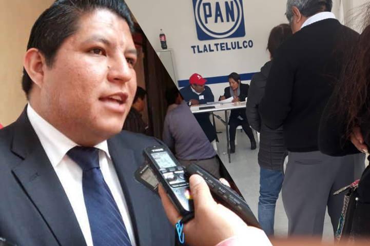 Polvo Rea agrede en Tlaltelulco y militantes lo sacan a patadas