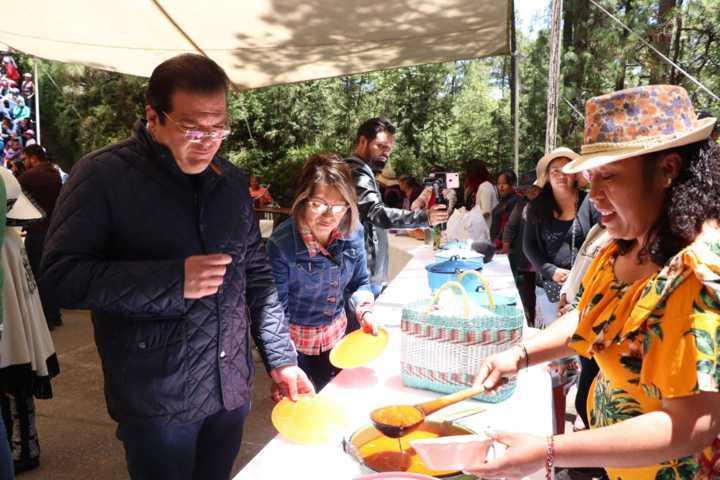 Más de 1 mil asistentes en la feria del Hongo y Muestra gastronómica 2019