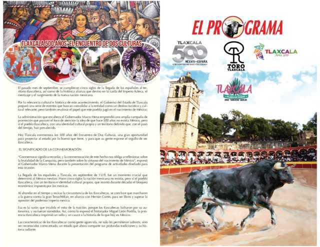 Programa Taurino de la Feria Tlaxcala 2019
