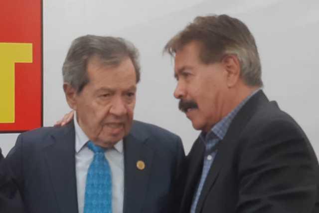 Porfirio Muñoz Ledo alienta a la 4T en Apizaco