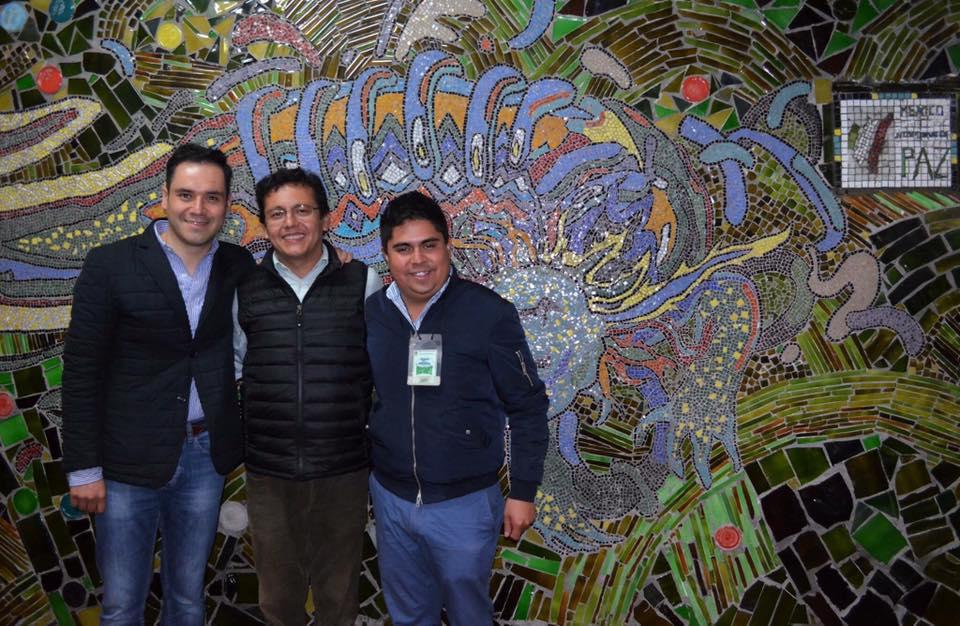 """Se inaugura vitro mural denominado el """"Ajolote,"""" coordinado por el Imjuvet"""