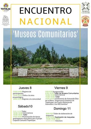 Inauguran Encuentro Nacional de Museos Comunitarios
