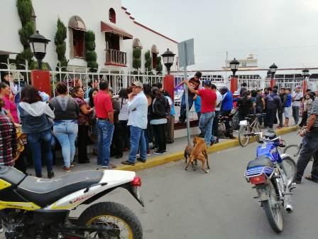 Habitantes de Nopalucan pretenden linchar a un ladrón