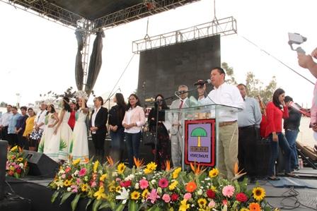 Sánchez Flores puso en marcha la Feria de San José y el Pulque