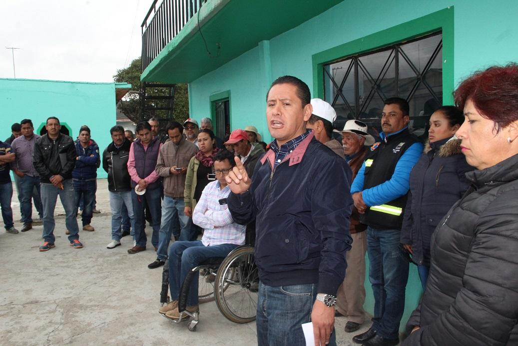 Se fortaleció desarrollo de Domingo Arenas con más de 6 mdp