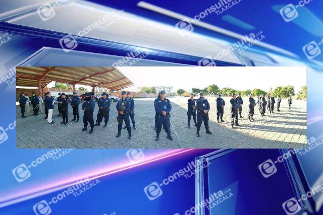 Anuncia Tlaxco relevo de comisario de seguridad pública