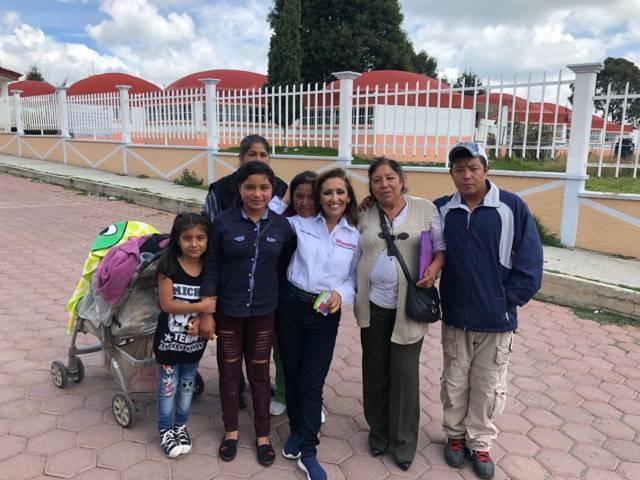 Vamos con Lorena y AMLO por la cuarta transformación del país: Pobladores