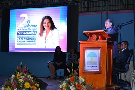 Con resultados concretos Lilia Olvera rinde segundo Informe