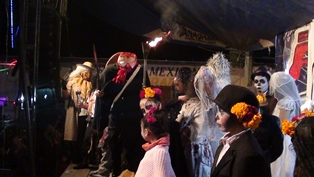 Nanacamilpa fomenta la tradición de Día de Muertos