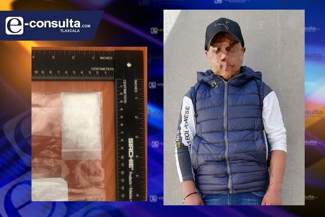 La SSC detiene en Lázaro Cárdenas a sujeto con droga
