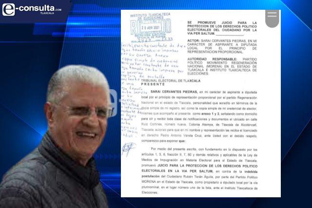 Sánchez Anaya quiere la pluri de Rubén Terán