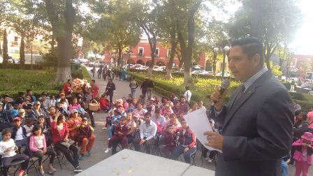 Niñas y niños de Tlaxco conocen por vez primera la capital