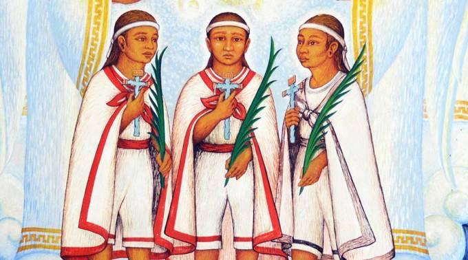 Acude Ayuntamiento de Tlaxcala a canonización de Niños Mártires