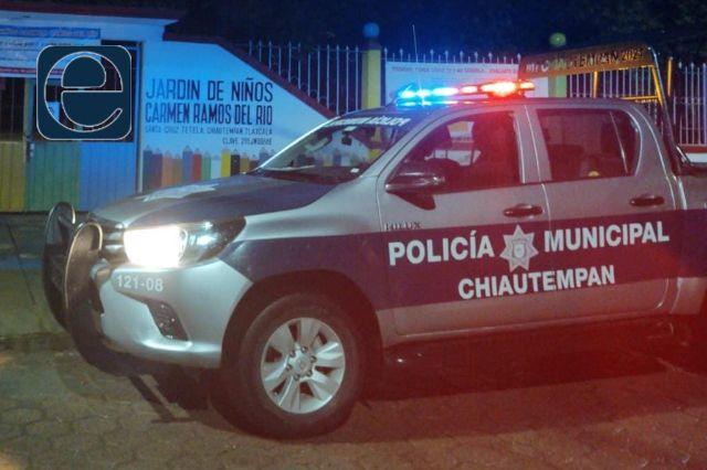 Bebé nace en una patrulla municipal de Chiautempan