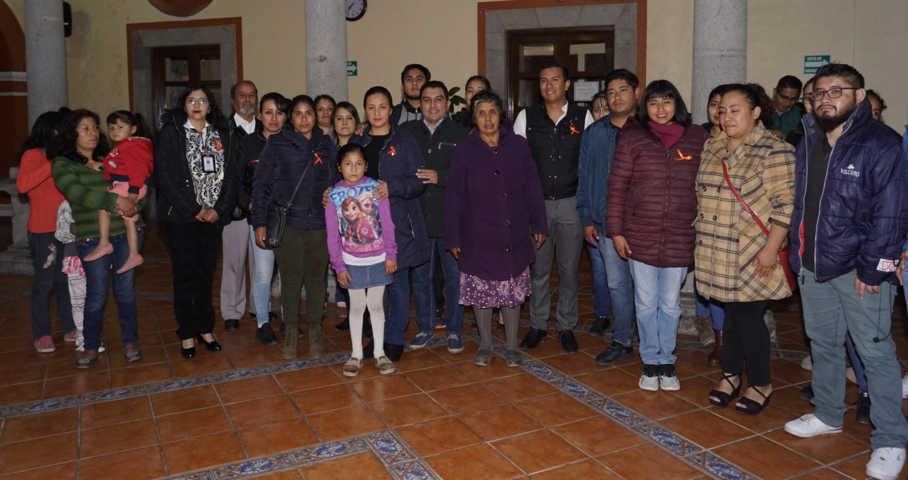 Alcalde impulsa el día de la No Violencia Contra las Mujeres