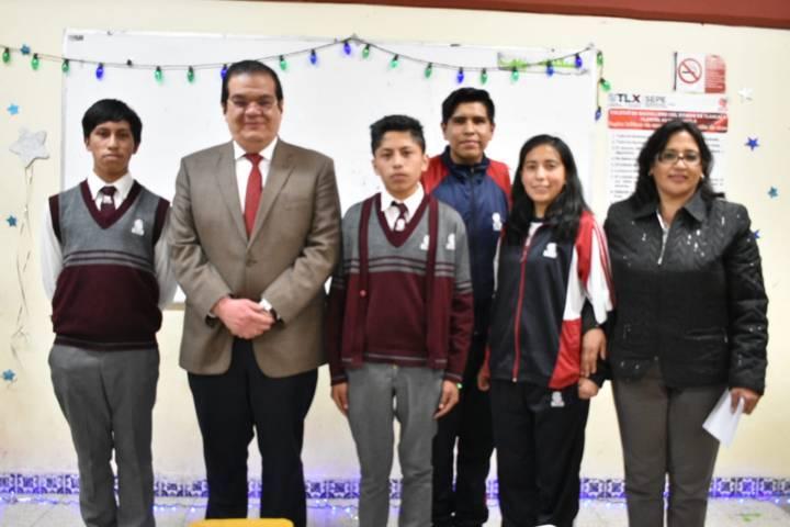Alcalde mejora la infraestructura educativa del COBAT 02 con 1mdp