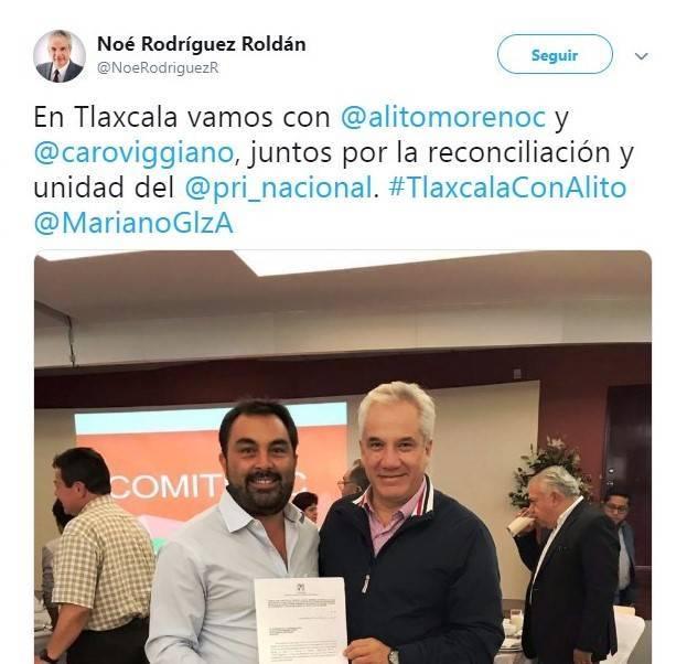 """Lo más rancio del PRI de Tlaxcala va con """"Alito"""""""