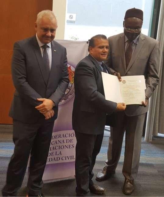 Nombran a Víctor Manuel Ávila como Secretario de Derechos Humanos del CEN de la COMASC