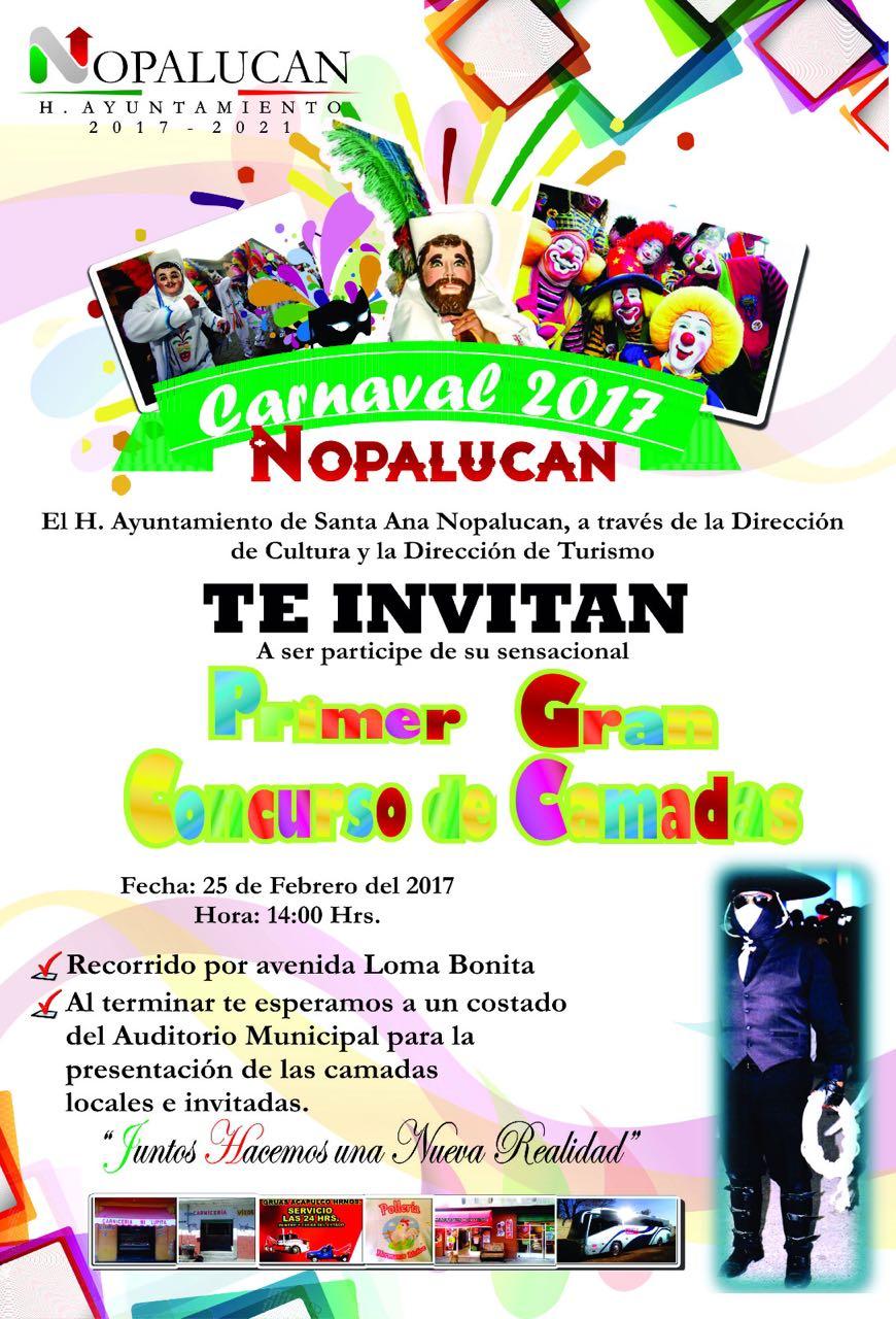 El carnaval Nopalucan 2017 derrochará alegría y tradición: alcalde