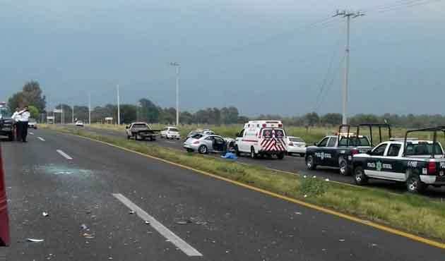 Accidente deja muerto en la vía corta Chiautempan Puebla