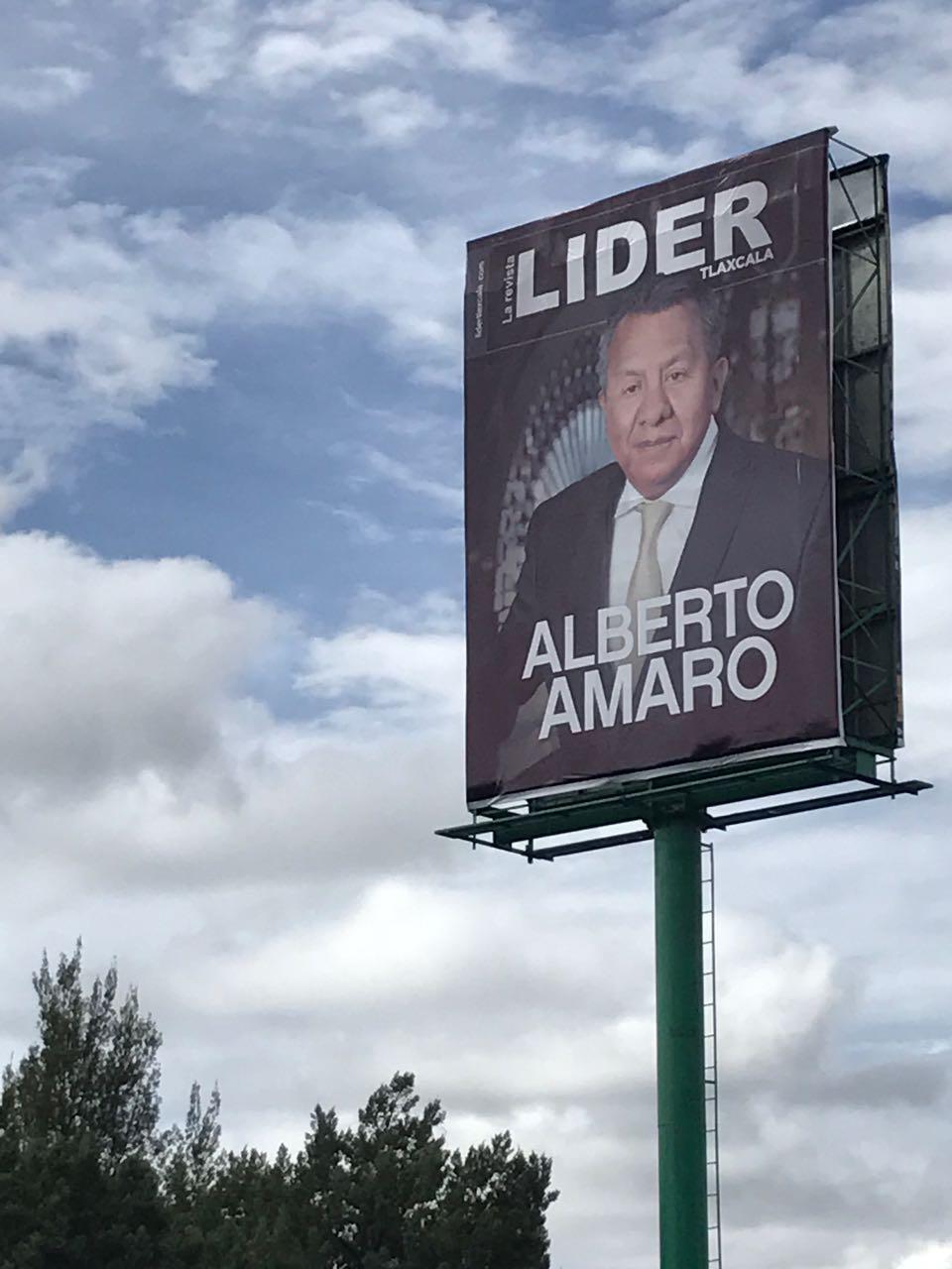 Con trampas inicia Alberto Amaro su aventura por la senaduría