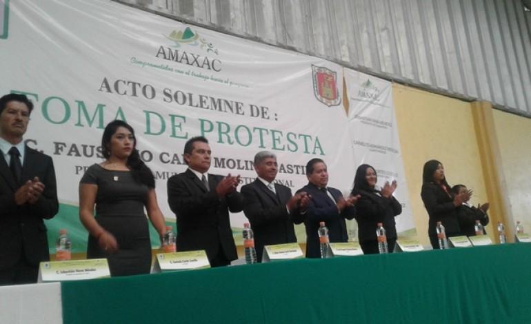 Alcalde de tiempo completo y apertura ofrece Faustino Carín Molina